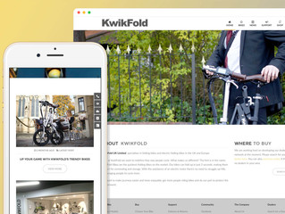 THE FIRST KWIKFOLD WEBSITE