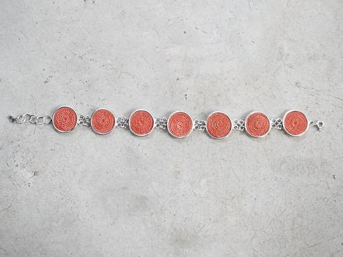 Seven Disc Bracelet