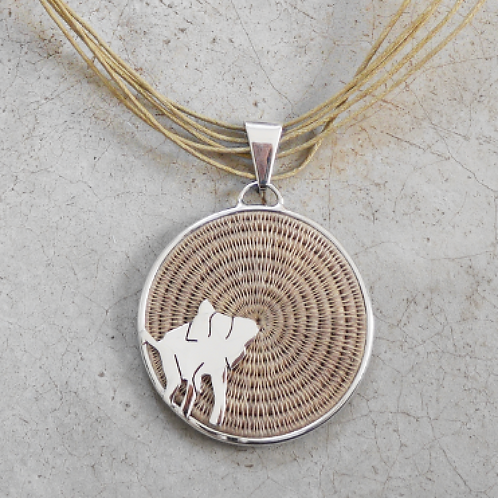 Large Elephant Necklace