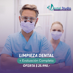 LIMPIEZA DENTAL  ULTRASONICA COMPLETA