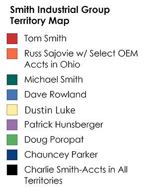 Smith Industrial Group Territory Map 2020 legend only.png