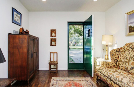 Guest cottage in historic Pasadena home staged by Jonathan Berger