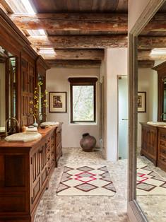 Jonathan Berger Interior Design, Santa Fe bathroom remodel