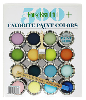 House Beautiful 500 Favorite Paint Colors discusses Jonathan Berger's bold use of color