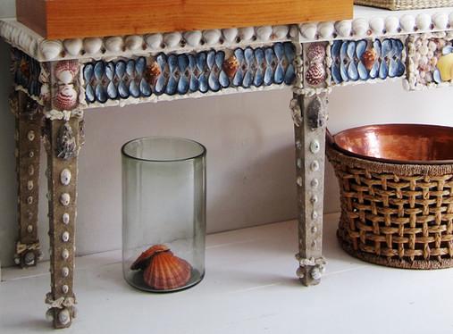 Custom designed tables by Jonathan Berger Interior Design
