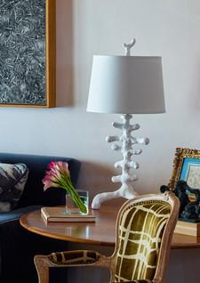 Custom Lamp by Jonathan Berger Interior Design