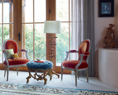 Jonathan Berger Interior Design, Santa Fe Home