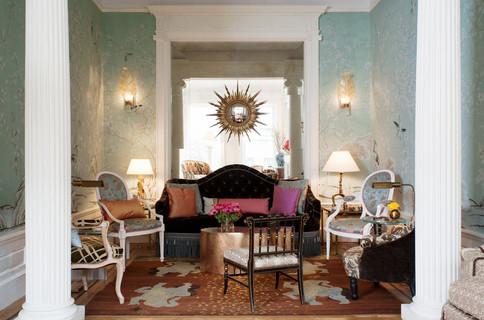 Jonathan Berger Interior Design, Brooklyn Townhouse featured in House BeautifulJonathan Berger Interior Design, Brooklyn Townhouse featured in House Beautiful