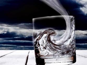 Não faça tempestade em copo d'água