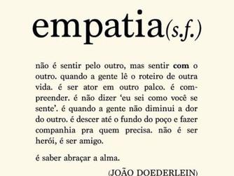 Empatia é mais do que simpatia