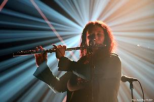 Valérie Ivy Hamelin, flûte dans la lumiè