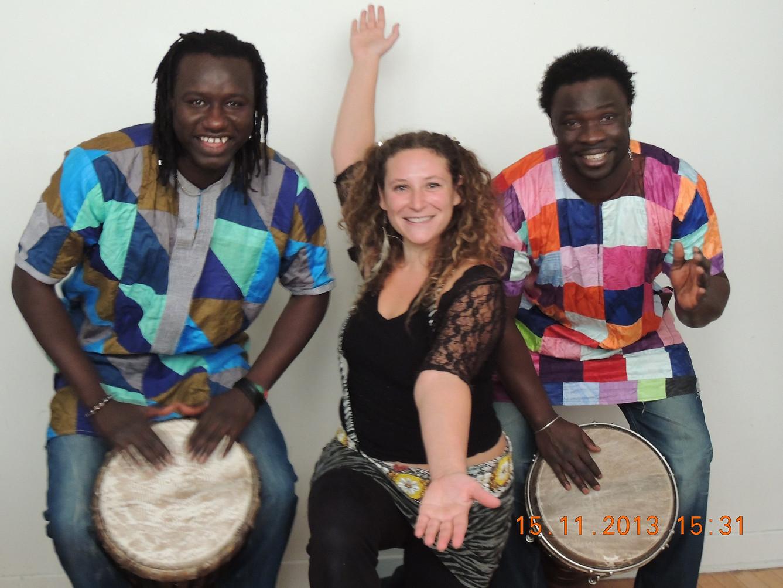 Artistes à l'école / Trio africain
