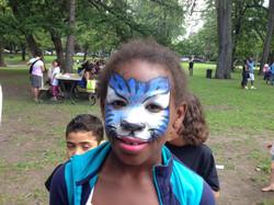 Tigre bleu, Haiti en folie, 2015