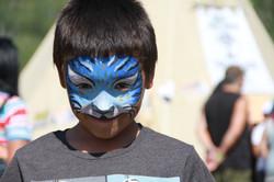 Tigre bleu, Powow Wemotaci