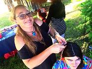 tresses brésiliennes atebas  service production mosaicultures animation festival hairwraps