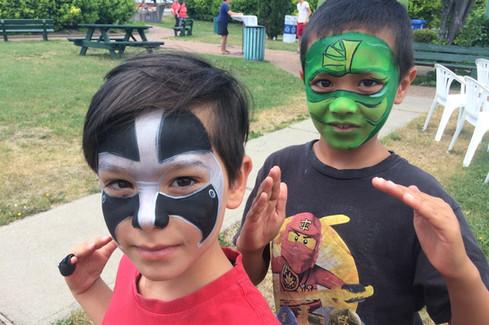 Super héros et samouraï