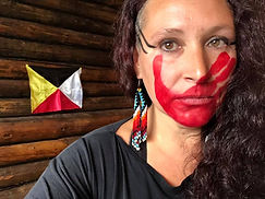 Contes et chants traditionnels mi'gmaq avec Valérie Ivy Hamelin de la communauté de Gespeg