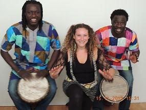 Percussion et chorale africaine / Artistes à l'école / Les Porductions Mosaiculture