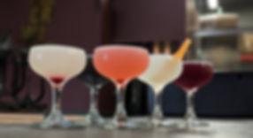 Cocktails mixology