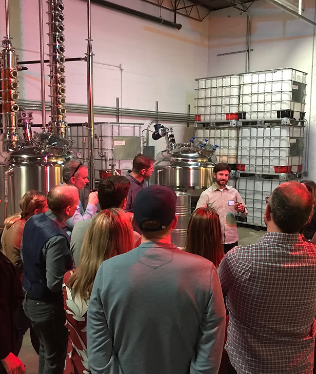 Copperwing Distillery Tour & Spirit Tasting