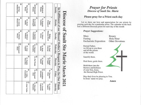 Prayer for all Priests March 2021 Pg.1
