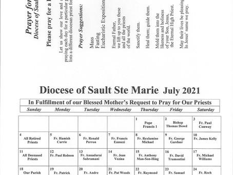 Prayer for Priests July 2021
