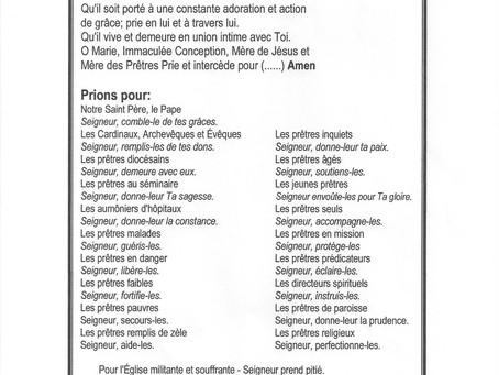 Prière pour les Prêtres / Août 2021 pg2