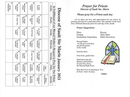Prayer for Priests January 2021 Page 1