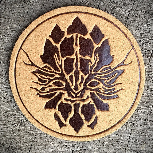 Leather Leafman Patch