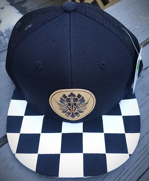 Checkered Out Leafman Hat