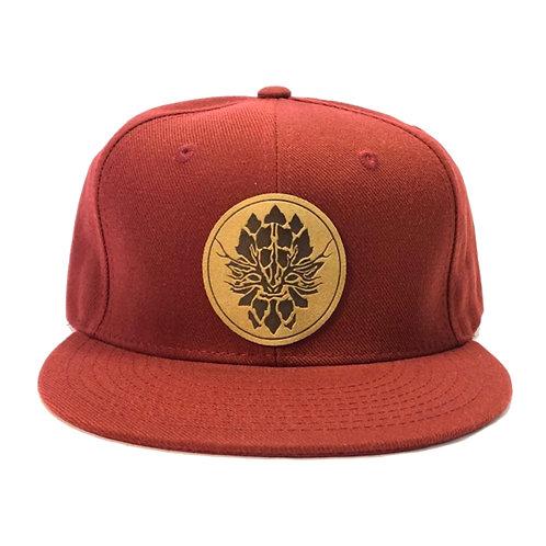 Maroon Snapback Hat