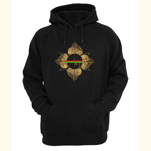 Black From Zero Pullover Hoodie