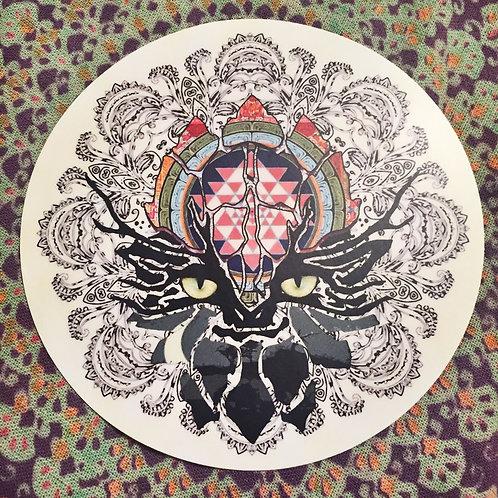 Round Beleaf Sticker