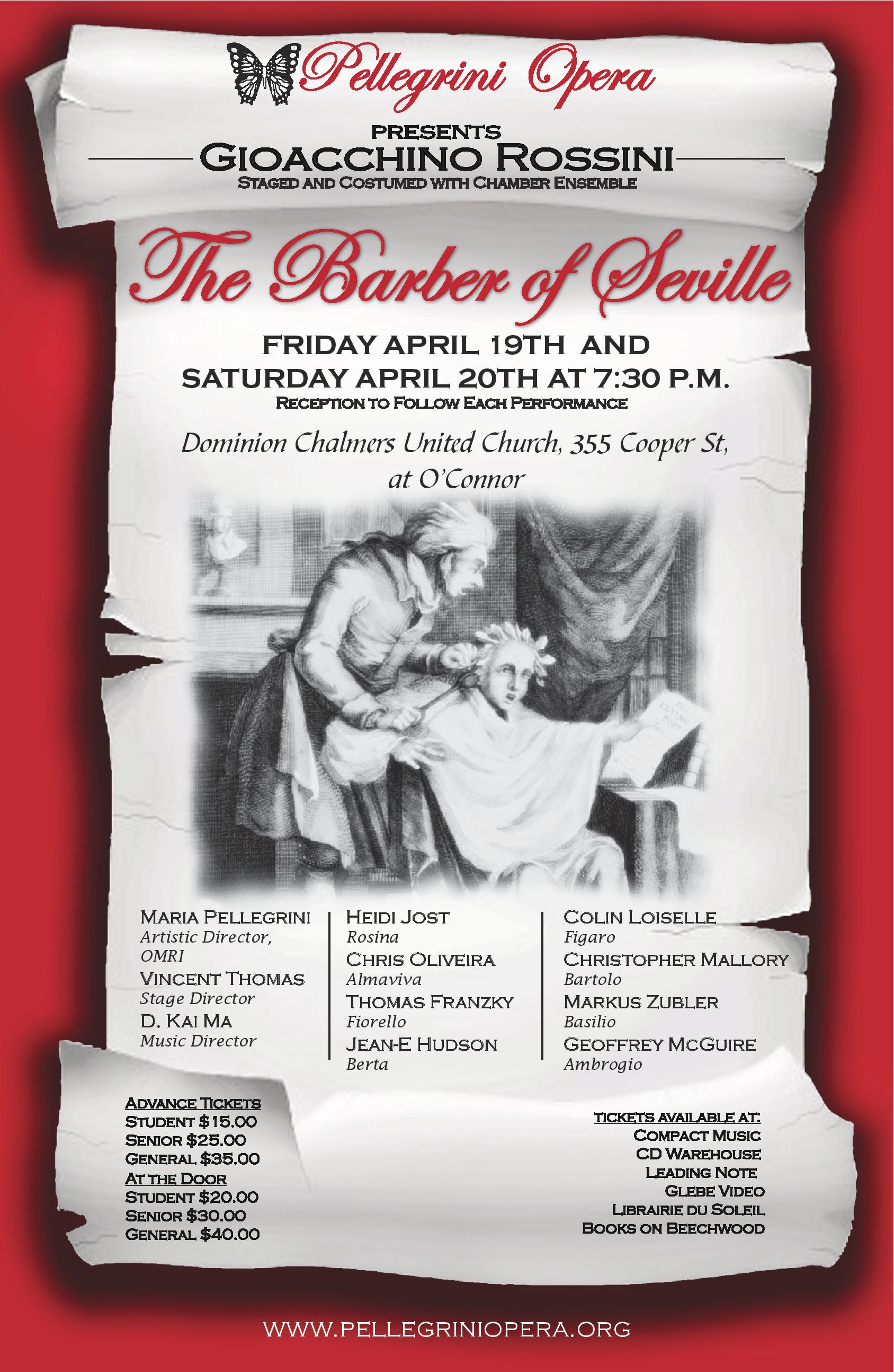 The Barber of Seville 2013