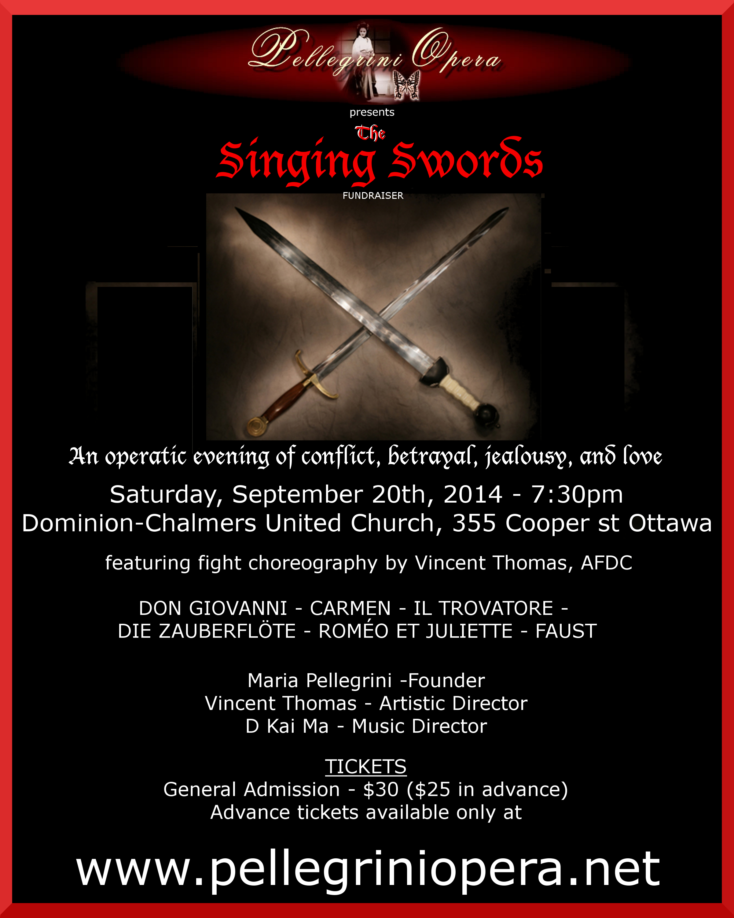 The Singing Swords 2014