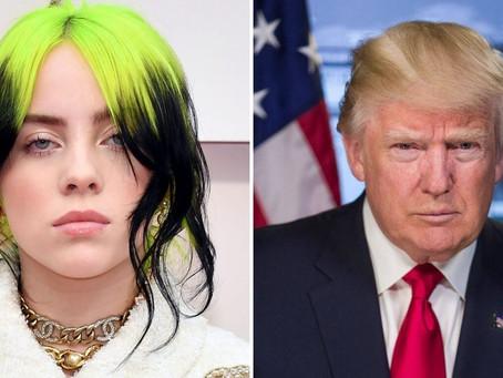 Billie Eilish lanza mensaje contra Donald Trump y le dedica una canción