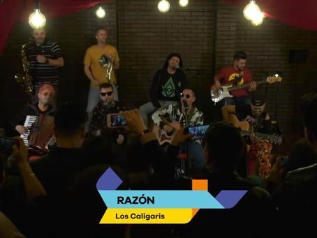Si te lo perdiste: Los Caligari en vivo en #Los40 #Video