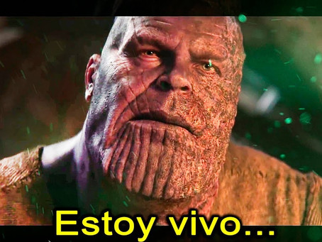 Thanos podría estar vivo después de Avengers End Game, según ésta loca teoría.