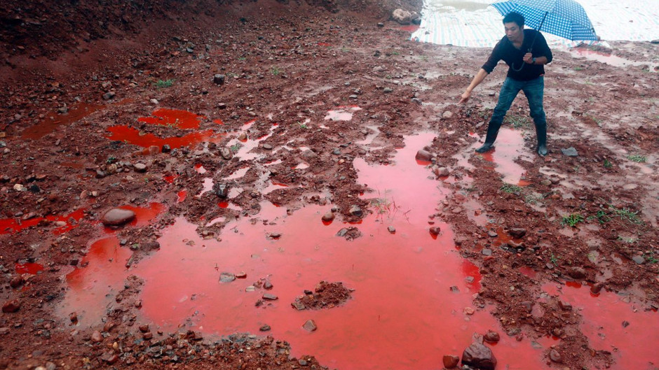 Dye Pollution and Solutions