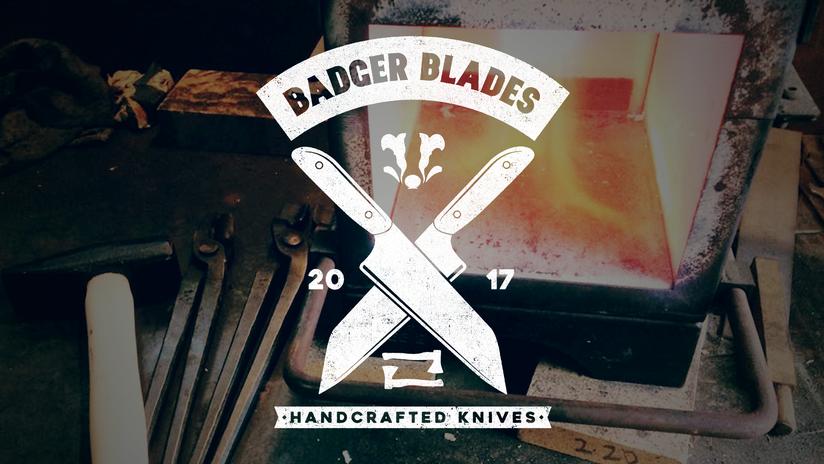 Badger Blades T-shirt design