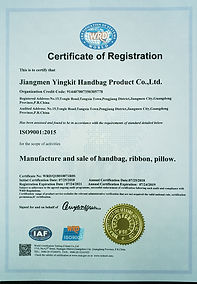 iso certificate tianao