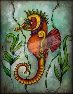 Renior - The SeaHorse with Watermark