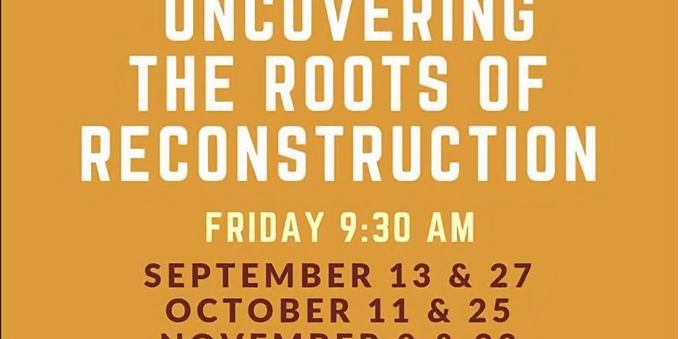 Uncovering the Roots of Reconstruction