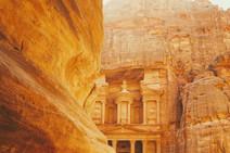 Archaeological City Petra Jordan History Landscape