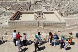 tourism-jerusalem scale model city