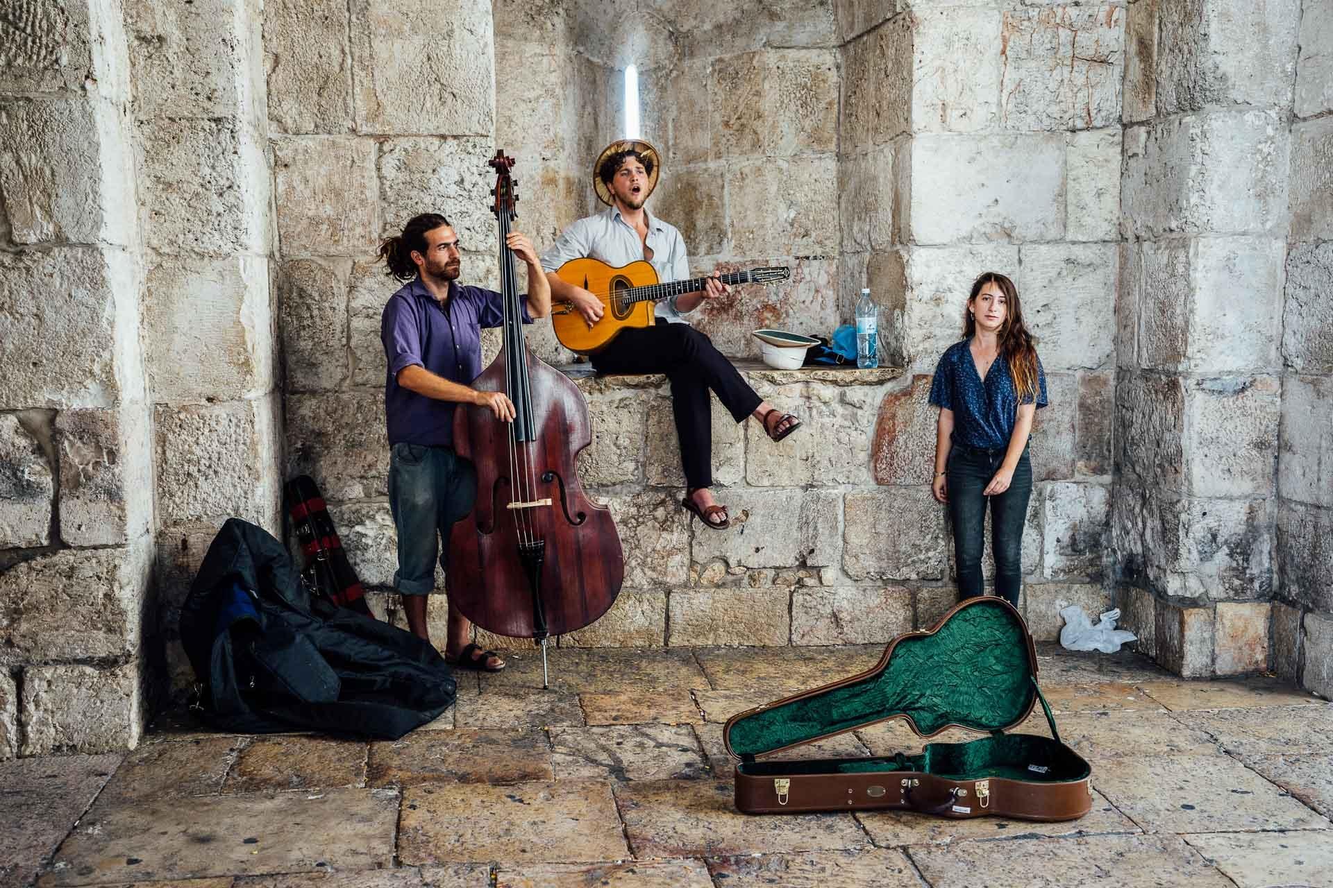 Israel Street Musicians Singer Jerusalem Busker-1121502