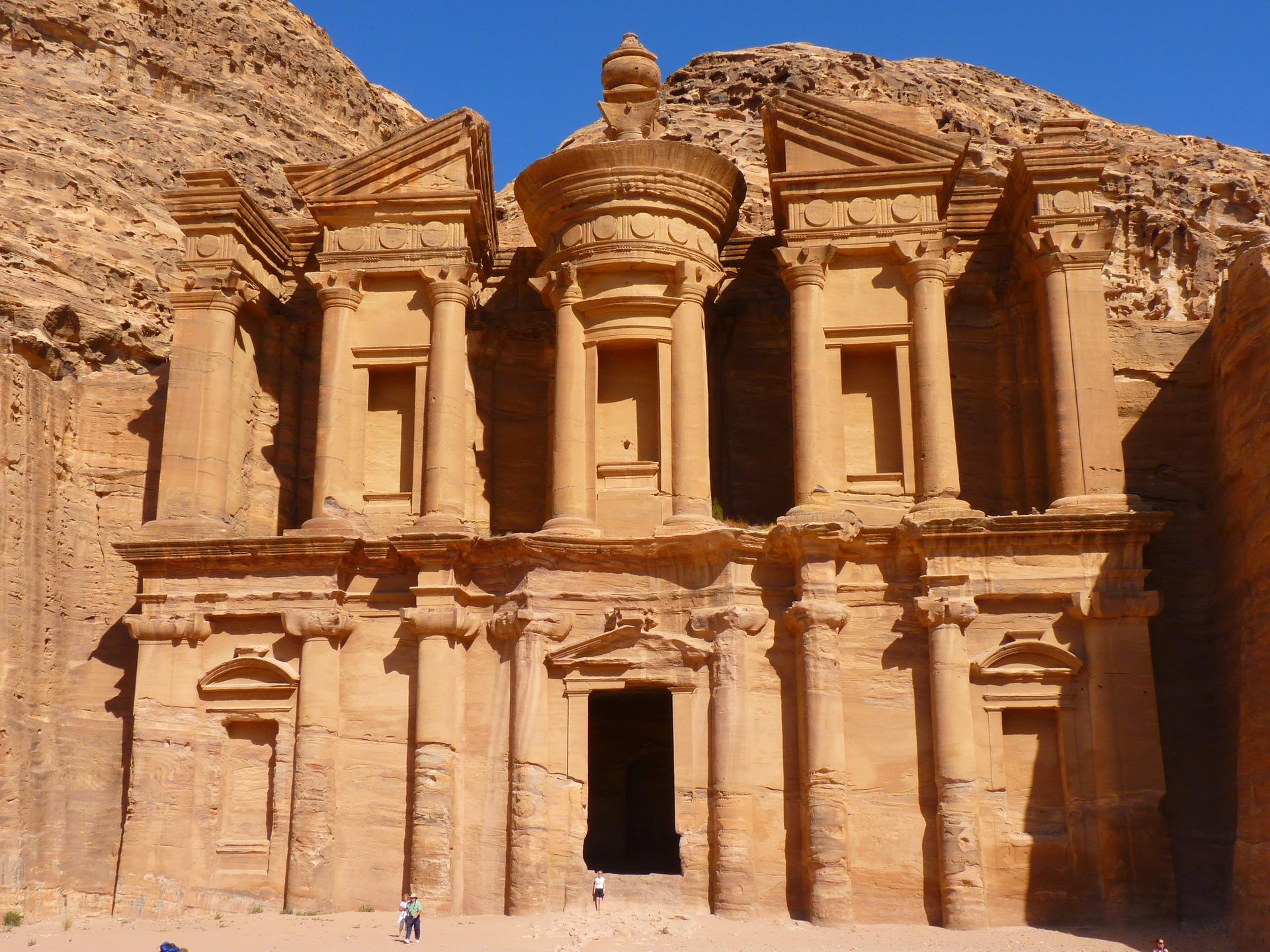 Ed Deir Monastery Petra Jordan Holiday T