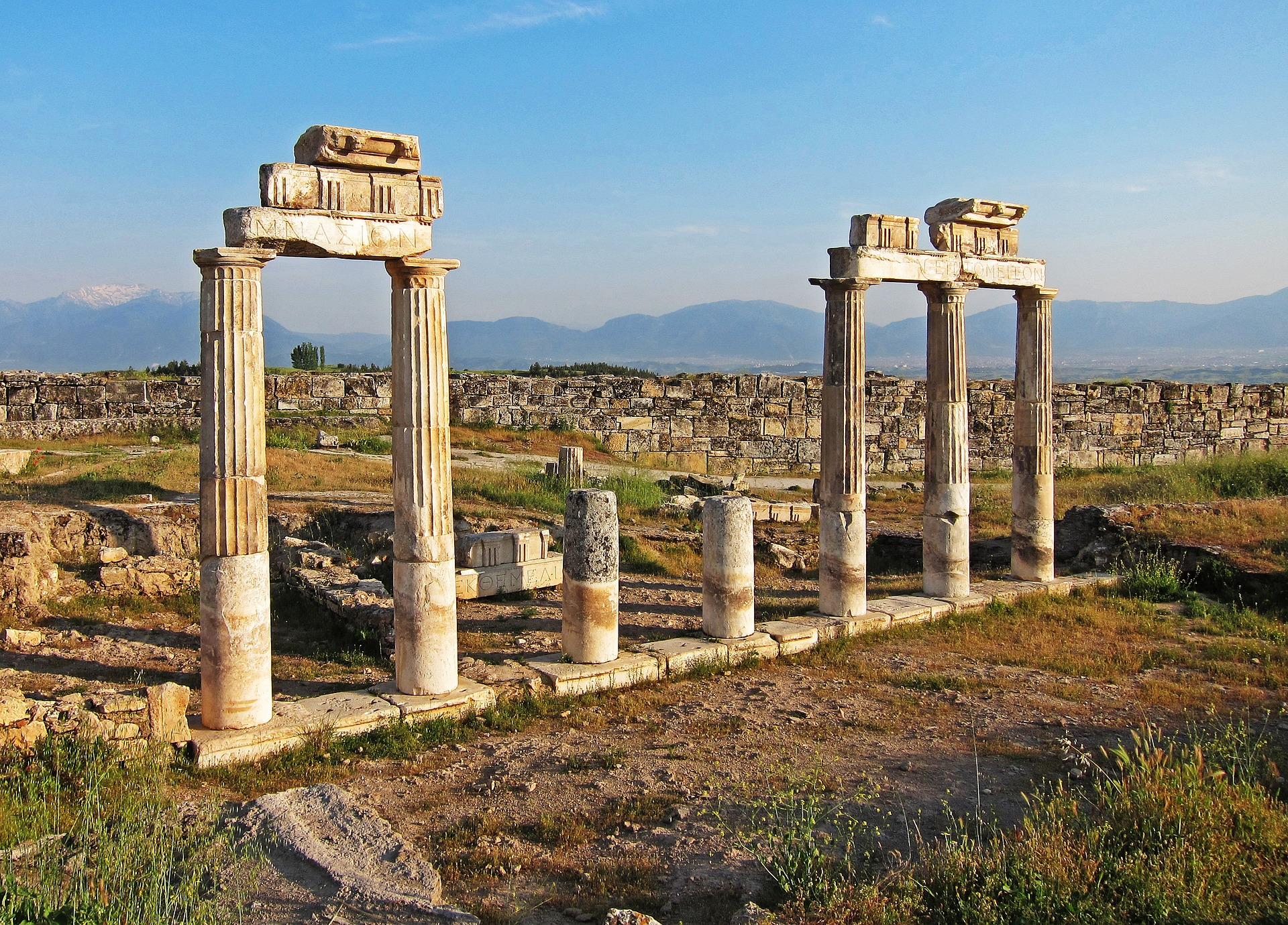 turkey Hierapolis Ancient Travel Tourism History-3284736_1920