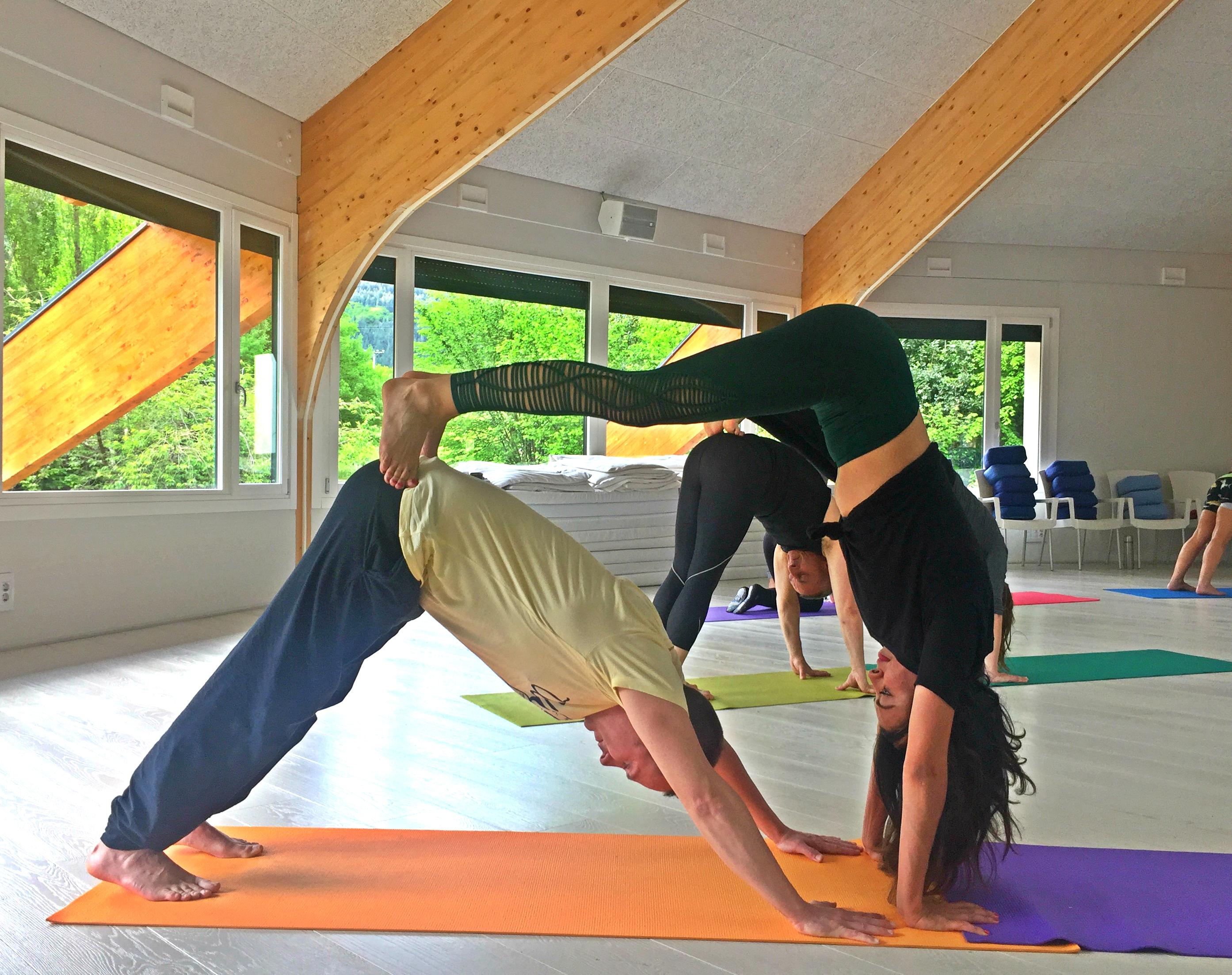 Yoga para dos