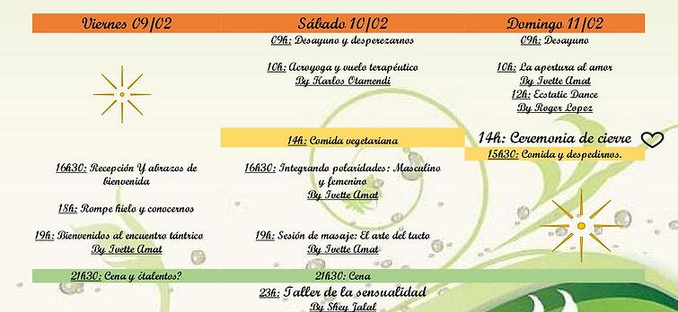 Programa wellness festiva
